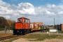 20.04.1997 - Langeoog, Bahnübergang Polderweg
