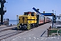 30.04.1989 - Borkum, Bahnhof Reede
