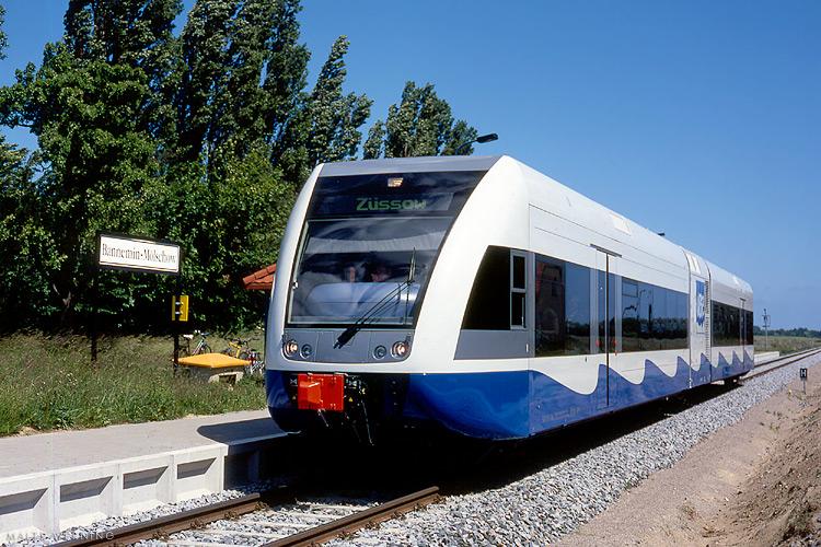 Zug Usedom