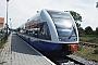 """Bombardier 523/013 - UBB """"946 113-8"""" 17.06.2001 - Zinnowitz (Usedom), BahnhofErnst Lauer"""