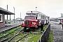 """Borgward ? - SVG """"LT 1"""" __.__.1969 - Westerland (Sylt), BahnhofGreinke (Archiv Claus Tiedemann)"""