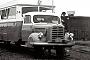 "Borgward ? - SVG ""LT 4"" 20.08.1957 - List (Sylt), BahnhofProf. Gerhard Marquordt †"