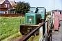 """Deutz 47165 - Reederei Norden-Frisia """"Carl"""" __.__.1981 - Juist, BahnhofHugo Burda"""