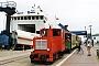 """DWK 551 - BKuD """"Leer"""" 17.07.2002 - Borkum-Reede, BahnhofMartin Kursawe"""