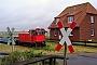 """FAUR 25666 - DB AutoZug """"399 106-4"""" 16.05.2011 - Wangerooge, Bahnhof WestenBernd Gennies"""
