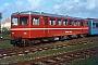 """Fuchs 9107 - IBL """"VT 3"""" 02.05.1981 - Langeoog, BahnhofDieter Riehemann"""