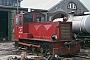 """Gmeinder 4378 - DB """"329 501-1"""" 18.05.1978 - Wangerooge, BahnbetriebswerkArchiv Werner Consten"""