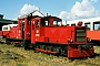 """Gmeinder 4378 - DB """"329 501-1"""" 25.08.1986 - Wangerooge, BahnbetriebswerkArchiv Werner Consten"""