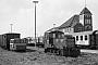 """Gmeinder 4378 - DB """"329 501-1"""" 13.09.1980 - Wangerooge, BahnhofDietrich Bothe"""