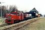 "Gmeinder 5038 - DB ""329 502-9"" 15.02.1989 - Wangerooge, BahnhofMartin Kursawe"