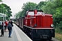 "Gmeinder 5327 - RüKB ""V 51 901"" 05.08.2001 - Lauterbach (Rügen), Haltepunkt MoleMarkus Strässle"