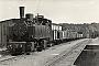"""Hanomag 6227 - DR """"99 4525"""" __.__.1958 - Bergen (Rügen), Bahnhof Bergen OstArchiv Wolf-Dietger Machel"""
