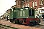 """Henschel 25955 - BKuD """"Emden"""" 26.07.1969 - Borkum, BahnhofCarl-Ulrich Huhn"""