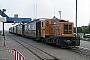 "Henschel 25955 - BKuD ""Emden"" 24.08.1977 - Borkum, Bahnhof ReedeHarald Maas (Archiv LFR - tramway.com)"