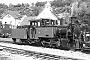 """Henschel 25982 - Seidensticker """"Nicki S."""" __.__.1986 - Krautheim, BahnhofGerhard Schulze"""