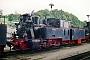 """Henschel 25982 - Seidensticker """"Nicki + Frank S."""" 07.08.2001 - Putbus (Rügen), BahnbetriebswerkMarkus Strässle"""