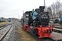 """Henschel 25983 - FöRK """"99 4652"""" 31.03.2015 - Putbus (Rügen), BahnhofMarvin Bötzer"""