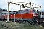 """Henschel 31452 - DB Regio """"215 096-9"""" 26.11.2000 - Gießen, BahnbetriebswerkErnst Lauer"""