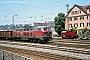 """Henschel 31452 - DB """"215 096-9"""" 08.07.1982 - Tübingen, HauptbahnhofStefan Motz"""