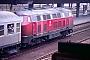"""Henschel 31484 - DB """"215 139-7"""" 23.01.1988 - Heidelberg, HauptbahnhofErnst Lauer"""