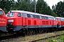"""Henschel 31484 - DB Autozug """"215 914-3"""" 01.08.2008 - Chemnitz, FahrzeuginstandhaltungswerkKlaus Hentschel"""