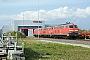 """Henschel 31820 - DB AutoZug """"218 362-2"""" 01.05.2006 - Niebüll, BahnbetriebswerkNahne Johannsen"""