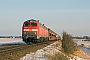 """Henschel 31821 - DB Autozug """"218 363-0"""" 11.02.2010 - Archsum (Sylt)Nahne Johannsen"""