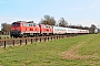 """Henschel 31821 - DB Autozug """"218 363-0"""" 02.04.2011 - Stelle-WittenwurthJens Vollertsen"""