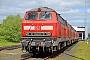 """Henschel 31821 - DB Fernverkehr """"218 363-0"""" 03.05.2014 - Niebüll, BahnbetriebswerkJens Vollertsen"""