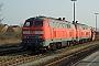 """Henschel 31822 - DB Autozug """"218 364-8"""" 01.04.2007 - Niebüll, DB-BahnhofNahne Johannsen"""