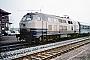 """Henschel 31823 - DB AG """"218 365-5"""" 07.03.1996 - Alzey, BahnhofErnst Lauer"""