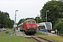"Henschel 31824 - DB Fernverkehr ""218 366-3"" 12.07.2015 - Zempin (Usedom), BahnhofPeter Wegner"