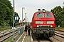 """Henschel 31824 - DB Fernverkehr """"218 366-3"""" 12.07.2015 - Wolgast, BahnhofPeter Wegner"""