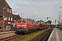 "Henschel 31824 - DB Fernverkehr ""218 366-3"" 19.05.2018 - Klanxbüll, BahnhofJens Grünebaum"