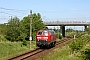 "Henschel 31827 - DB Autozug ""218 369-7"" 06.06.2010 - Rostock, OstkreuzPeter Wegner"