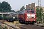 """Henschel 31829 - DB """"218 371-3"""" 01.08.1988 - Landau (Pfalz)-Godramstein, BahnhofIngmar Weidig"""