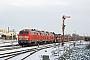 """Henschel 31829 - DB Autozug """"218 371-3"""" 09.01.2010 - Sylt-Tinnum (Sylt)Nahne Johannsen"""