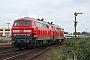 """Henschel 31829 - DB Autozug """"218 371-3"""" 28.08.2008 - Tinnum (Sylt)Yannick Hauser"""