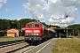 "Henschel 31832 - DB Autozug ""218 374-7"" 23.08.2009 - Seebad Heringsdorf (Usedom), BahnhofPeter Wegner"