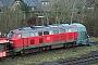 """Henschel 31832 - DB Autozug """"218 374-7"""" 22.01.2012 - Tinnum (Sylt)Nahne Johannsen"""