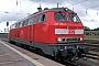 """Henschel 31832 - DB Autozug """"218 374-7"""" 25.07.2009 - StralsundStefan Pavel"""