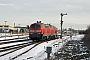"""Henschel 31834 - DB Autozug """"218 376-2"""" 10.02.2010 - Tinnum (Sylt)Nahne Johannsen"""