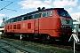 """Henschel 31834 - DB AG """"218 376-2"""" 06.04.1997 - Kaiserslautern, BahnbetriebswerkErnst Lauer"""