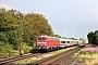 """Henschel 31834 - DB Fernverkehr """"218 376-2"""" 29.07.2015 - Risum-LintholmPeter Wegner"""