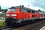"""Henschel 31836 - DB Regio """"218 378-8"""" 12.07.2004 - Eutin, BahnhofKlaus Hentschel"""