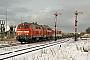 """Henschel 31838 - DB Autozug """"218 380-4"""" 31.01.2010 - Keitum (Sylt)Nahne Johannsen"""