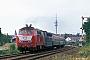 """Henschel 31839 - DB """"218 381-2"""" 17.08.1990 - Landau (Pfalz)Archiv Ingmar Weidig"""