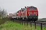 "Henschel 31843 - DB Autozug ""218 385-2"" 28.04.2012 - Klanxbüll-DreieckskoogJens Vollertsen"