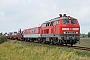 "Henschel 31843 - DB Fernverkehr ""218 385-2"" 30.08.2014 - Niebüll, Bahnübergang SüderendeJens Vollertsen"