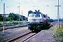 """Henschel 31844 - DB Autozug """"218 386-1"""" 18.06.1988 - Bous, BahnhofErnst Lauer"""
